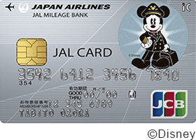JAL JCBカード(ディズニー・デザイン)普通カード・画像