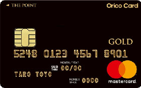 OricoCard THE POINT PREMIUM GOLD・画像